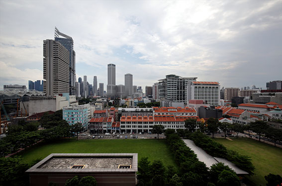 The site on Tan Quee Lan Street purchased for $800.2 million that GuocoLand intends to link underground to Guoco Midtown across Beach Road (Photo: Samuel Isaac Chua/EdgeProp Singapore) - EDGEPROP SINGAPORE