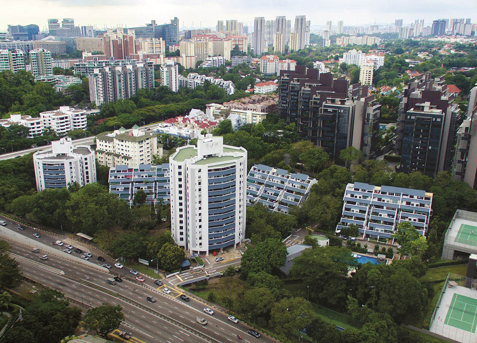 Leedon Green, the redevelopment of the former Tulip Garden, is one of the most anticipated launches of 2020 (Photo: Colliers International)