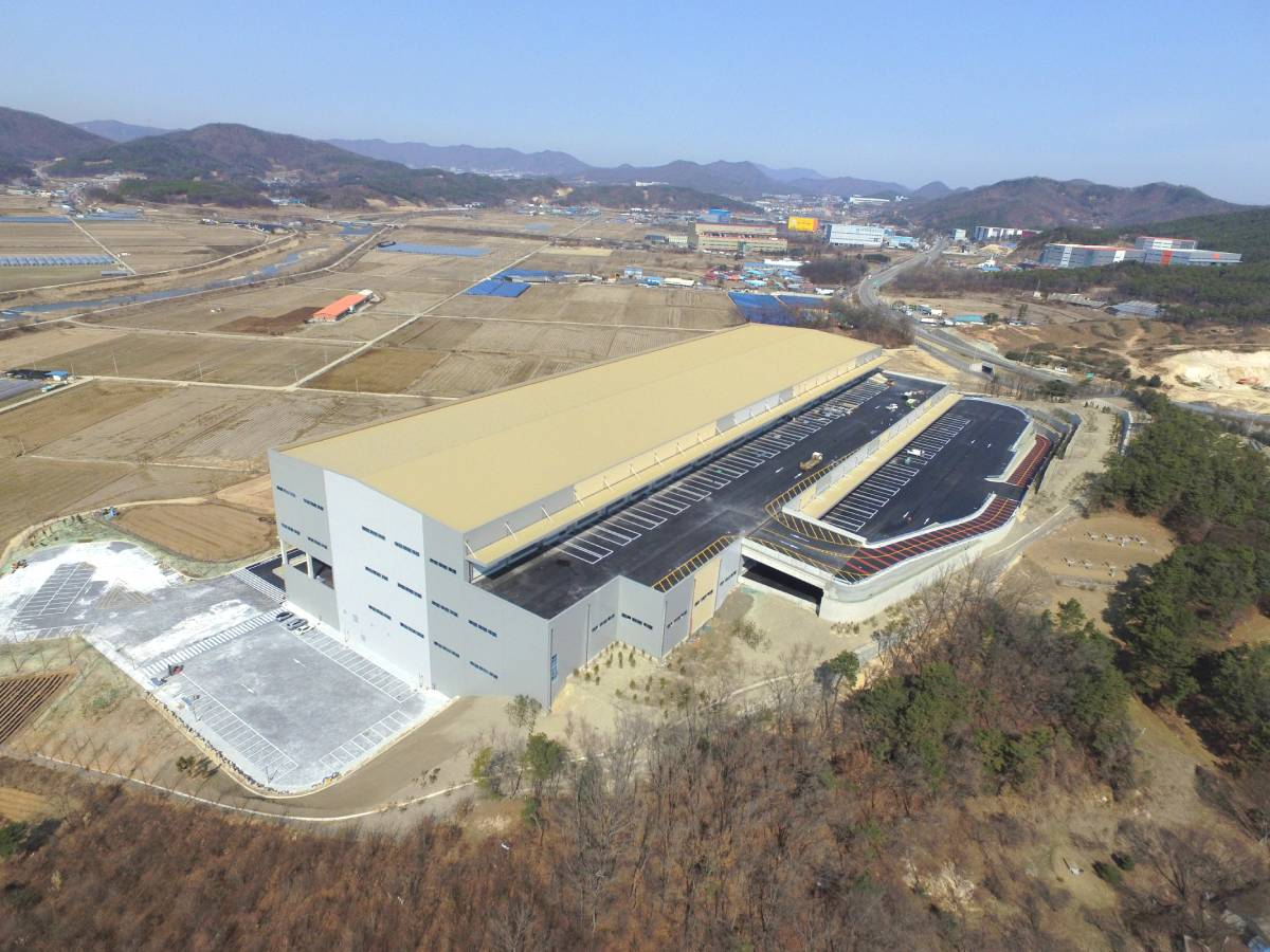 Yongin Baegam Logistics Centre (Credit: M&G Real Estate) - EDGEPROP SINGAPORE
