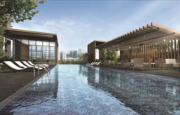 Catering to different audiences, pool facilities at Verticus include a 17m leisure pool and a 30m lap pool (Image: Artist's Impression)