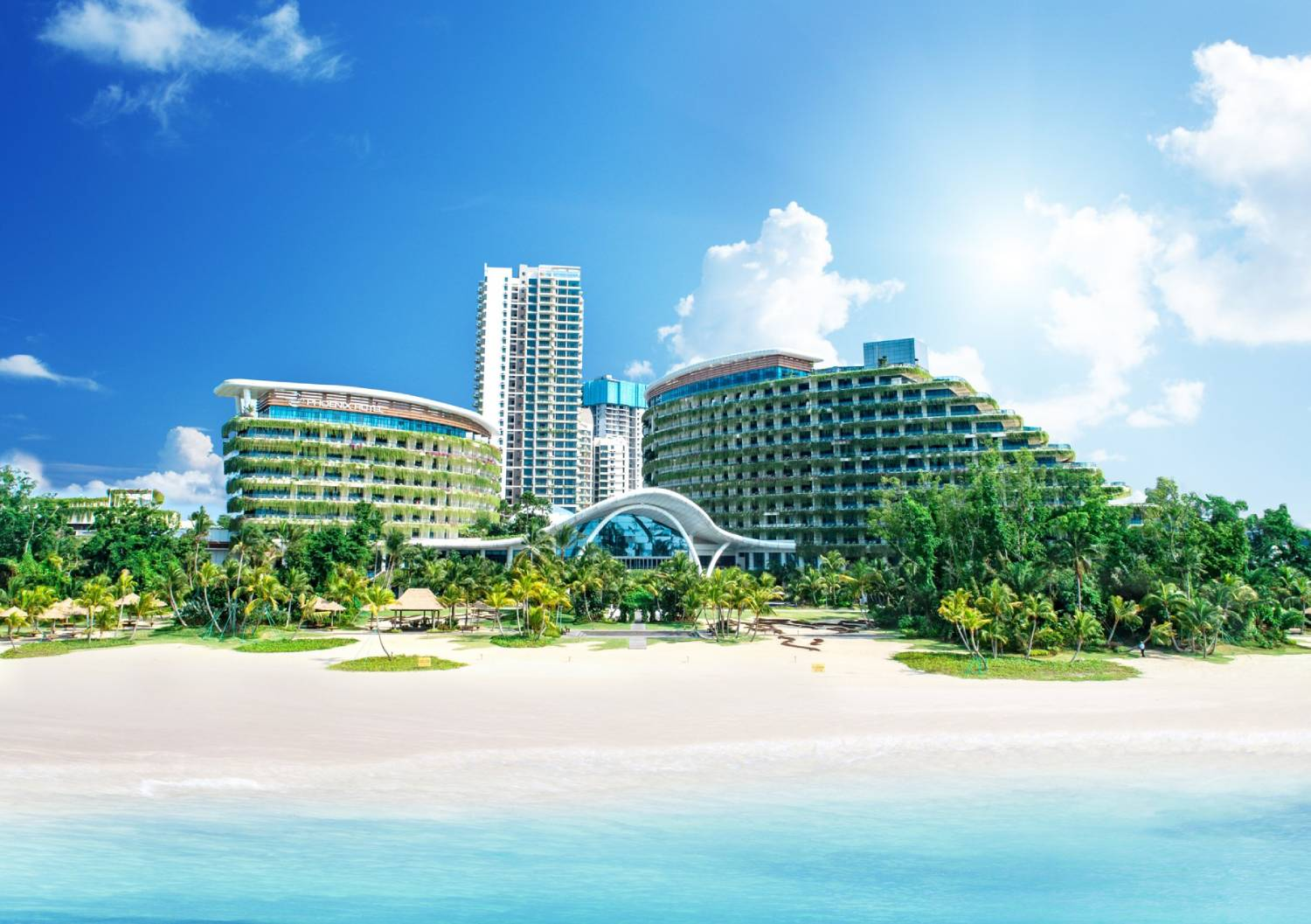 FOREST CITY - The five-star Phoenix International Marina Hotel is part of the first island of Forest City (Credit: Country Garden Pacificview)
