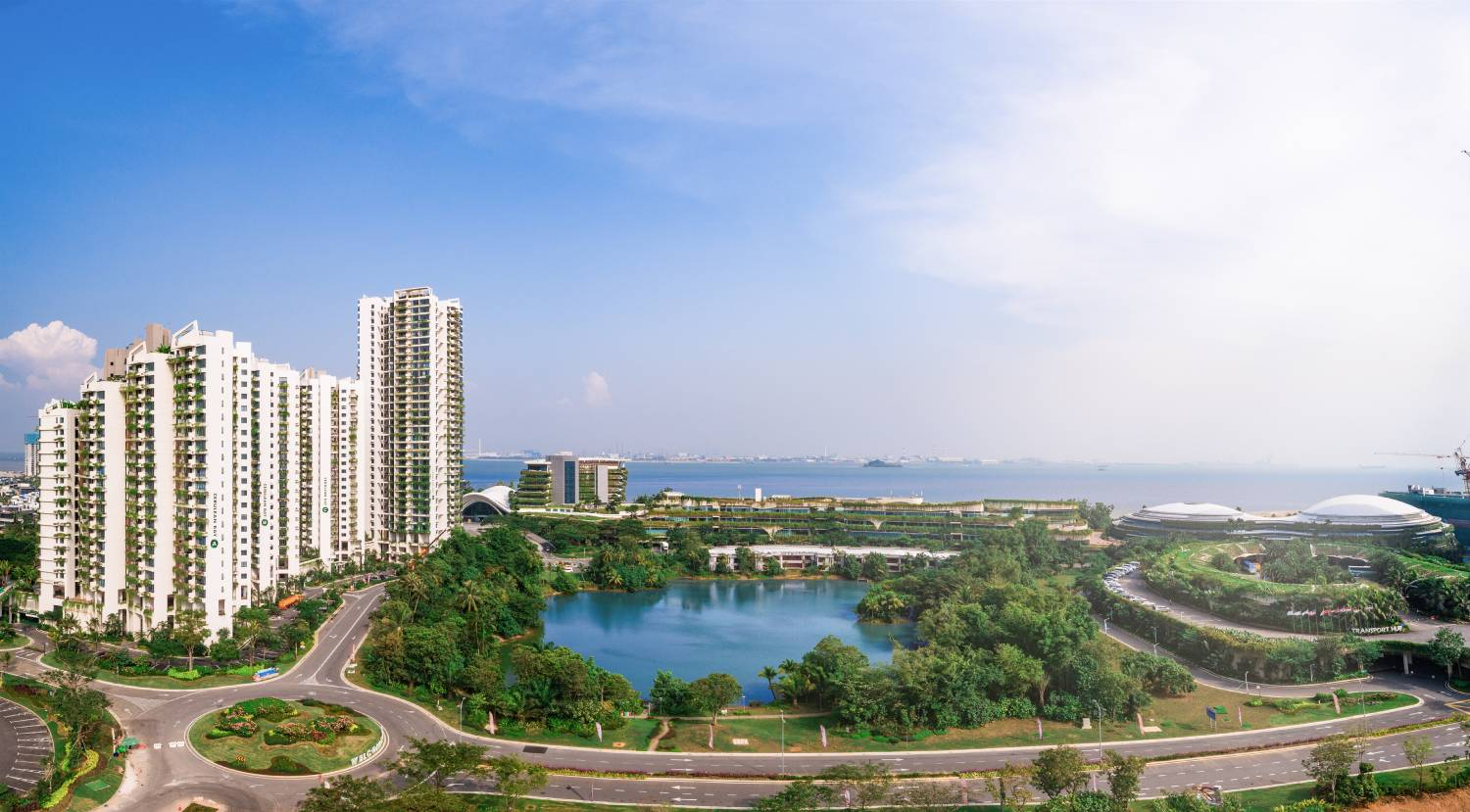 FOREST CITY - Since end-March this year, more than 4,000 residential units have been transferred to owners (Credit: Country Garden Pacificview)