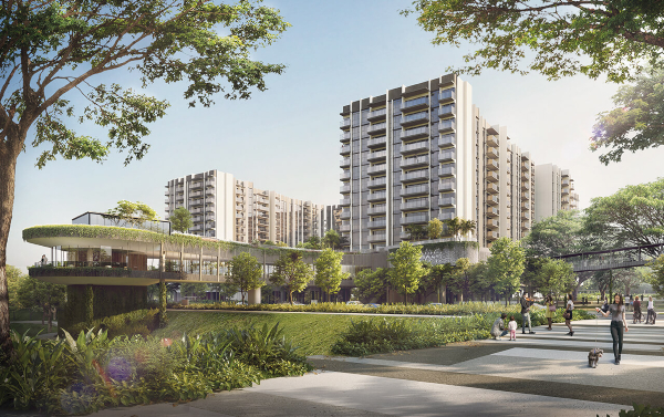 NEL MRT STATIONS - The Woodleigh Residences Artist's Impression