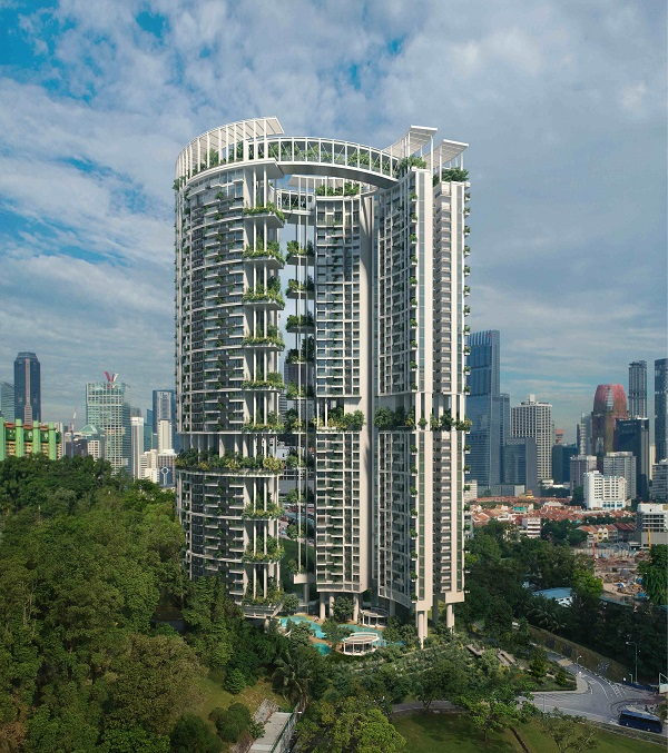 NEL MRT STATIONS - One Pearl Bank, a 99-year leasehold project