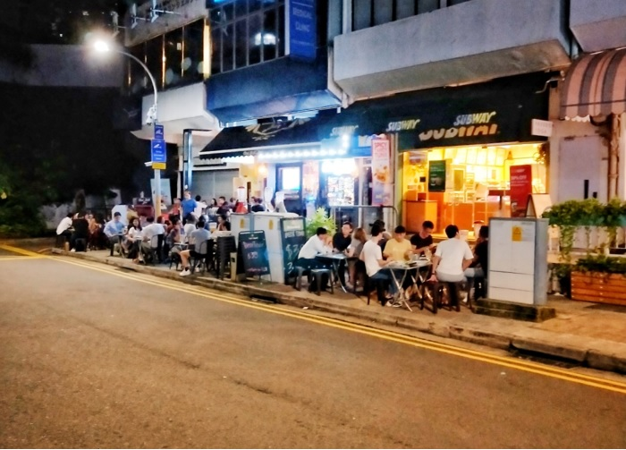 holland village bars supper spot - A young crowd dominates the late-night dining scene here - EDGEPROP SINGAPORE