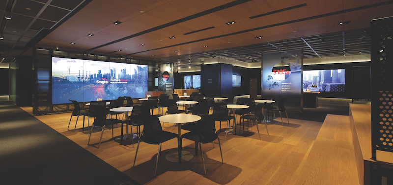 Singtel FutureNow was designed to help the telco engage with customers in meaningful dialogue (Credit: Samuel Issac Chua/EdgeProp Singapore) - EDGEPROP SINGAPORE