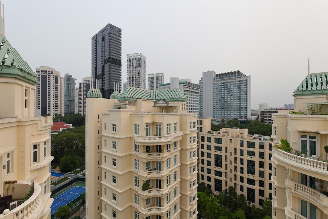 从顶层公寓欣赏到的美景(图片:Samuel Isaac/EdgeProp Singapore)