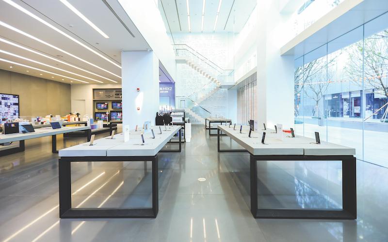 Xiaomi's flagship store in Shenzhen, China (Credit: Eight Inc) - EDGEPROP SINGAPORE