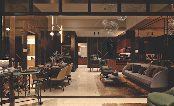 Pullman Residences - The showflat of a 1,378 sq ft, four-bedroom penthouse with 4m ceiling height - EDGEPROP SINGAPORE