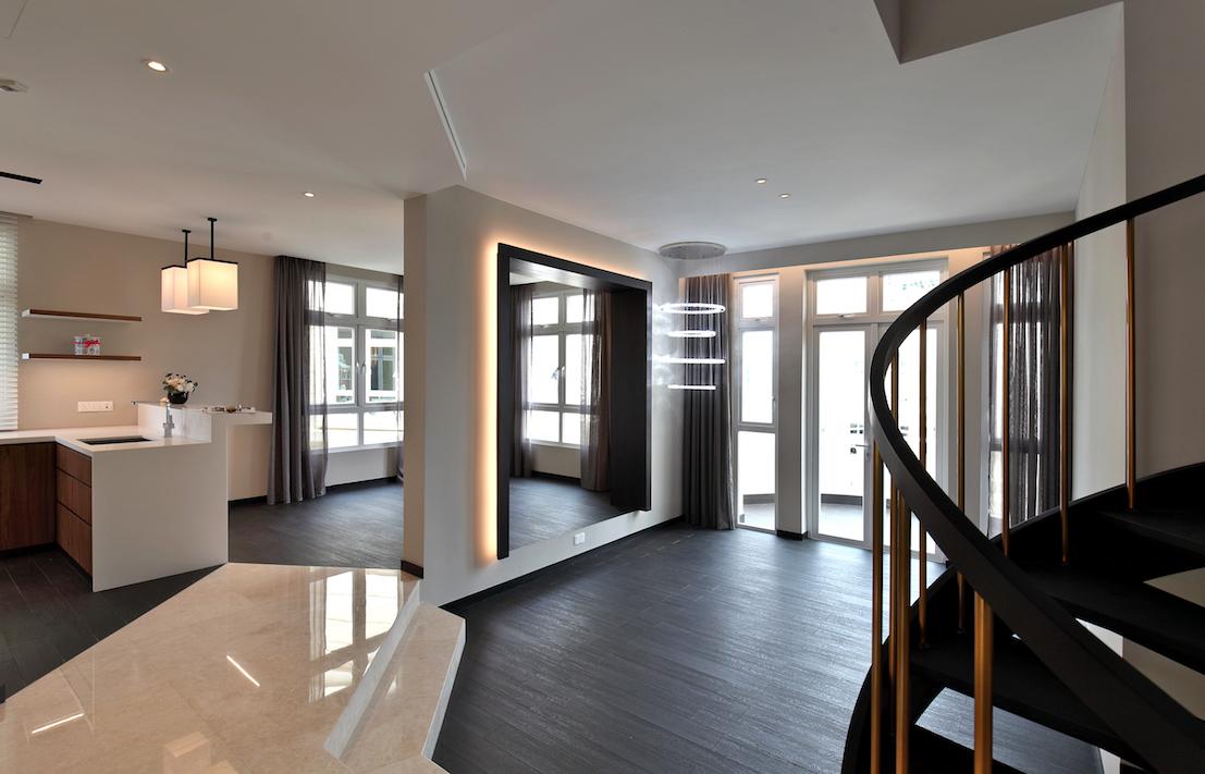 业主花了$60万,聘请屡获殊荣的室内设计公司Design Intervention进行翻新。