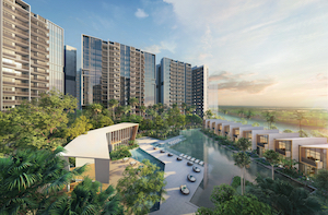 Riverfront Residences - Riverfront Residences has more than 100 condo facilities that are spread across three coves: Resort, Lifestyle and Botanic (Photo: Oxley Holdings)