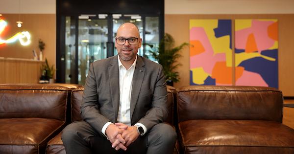 Paul Schmeja - First Contact's CEO Paul Schmeja (Credit: Samuel Isaac Chua/The Edge Singapore)