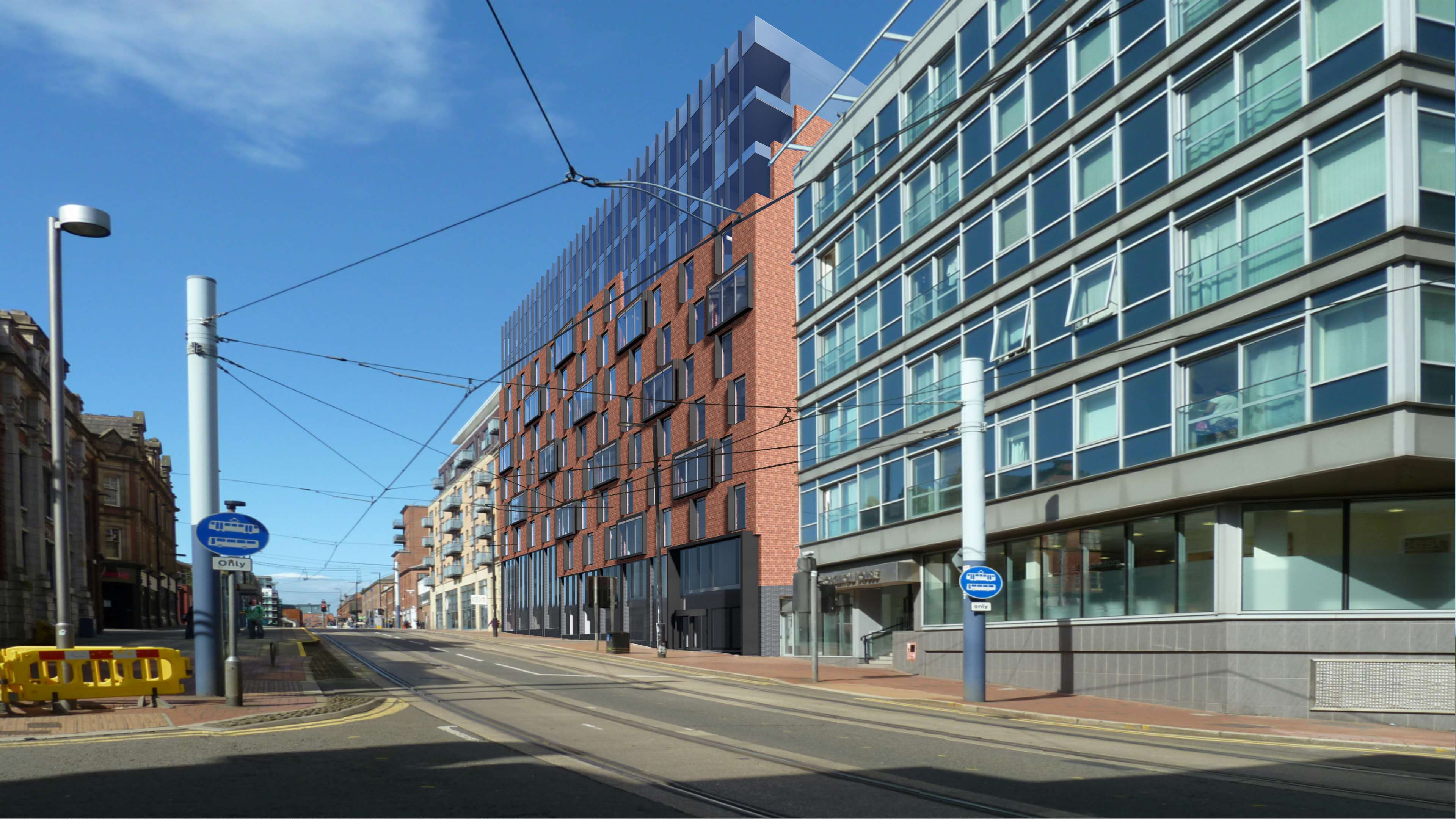 QIP - QIP's 284-bed student accommodation project on West Street, Sheffield