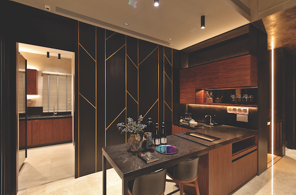 Pullman Residences kitchen - The dry and wet kitchen of the four-bedroom penthouse at Pullman Residences Newton - EDGEPROP SINGAPORE