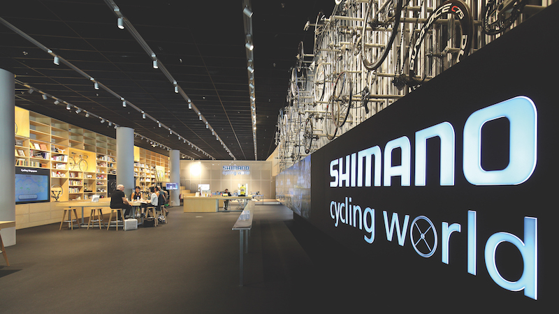 Located at Singapore Sports Hub, Shimano Cycling World is about creating a community for cyclists (Credit: Samuel Issac Chua/EdgeProp Singapore) - EDGEPROP SINGAPORE