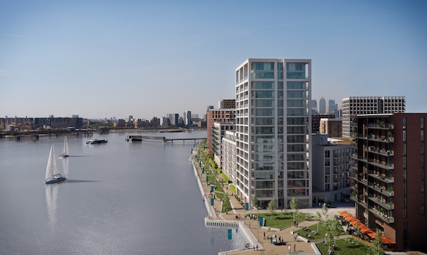 Royal Wharf - More than 90% of the residential units at Royal Wharf have been sold (Photo: Oxley Holdings)