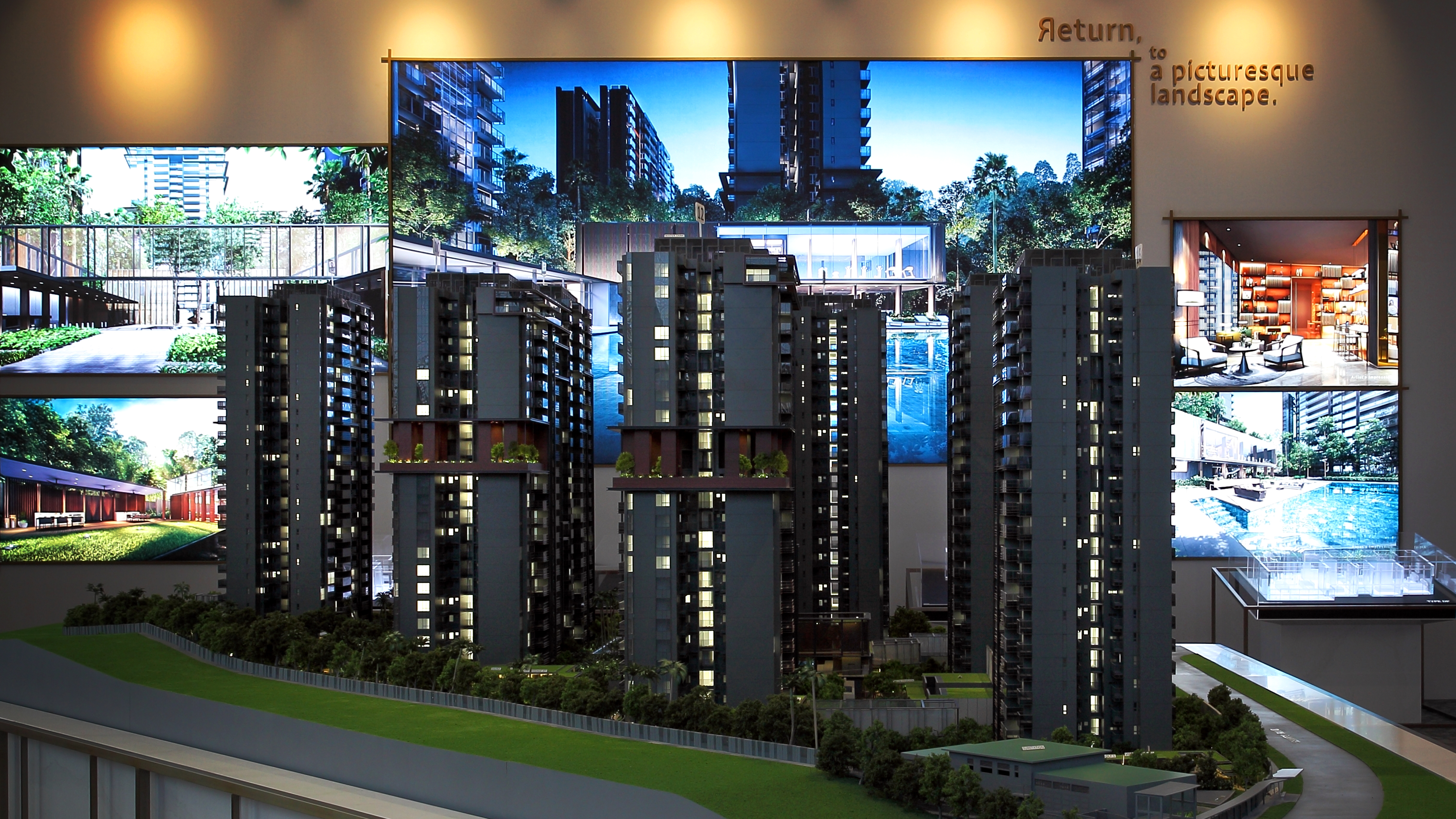 As the residential towers are above 20 storeys, high-floor units will have panoramic views of the MacRitchie Reservoir Nature Reserve and the neighbouring landed estates - EDGEPROP SINGAPORE