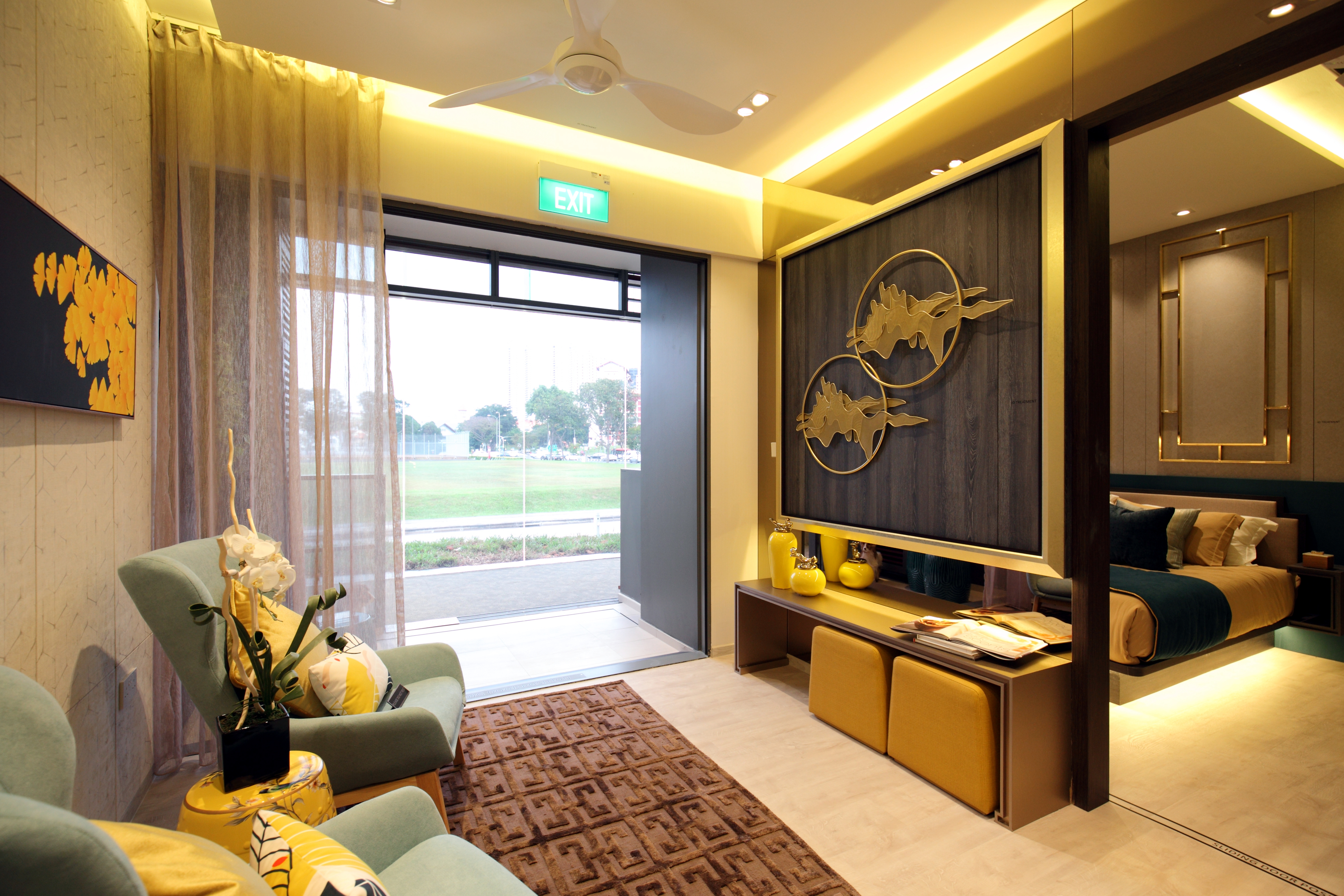 A show suite of a 'Gold Standard' one-bedroom unit and bathroom catering to active senior living 2 - EDGEPROP SINGAPORE