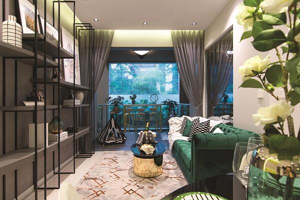 Wellness pervades the meticulous planning of Verticus' interiors (Photo: ALBERT CHUA/THE EDGE SINGAPORE)