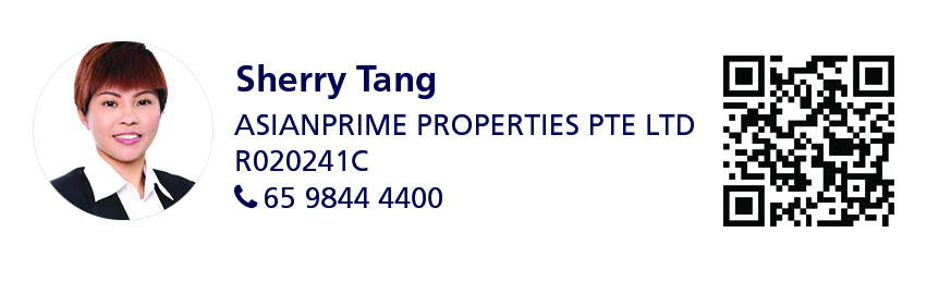 Contact details of Sherry Tang, director at AsianPrime Properties (65 9844 4400)