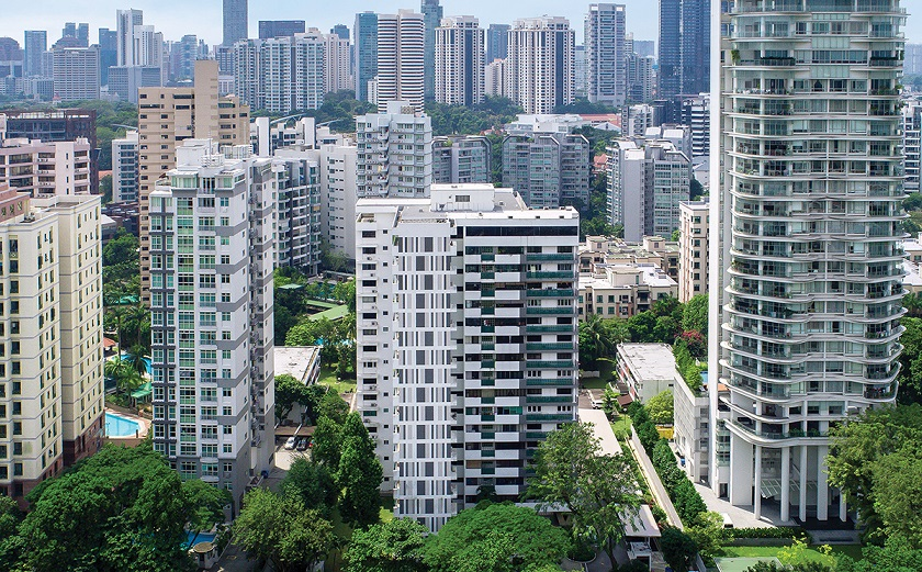 High-angle shot of City Towers - EDGEPROP SINGAPORE