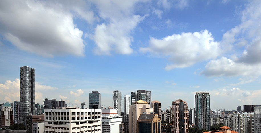 Offices and condominiums at Orchard Road