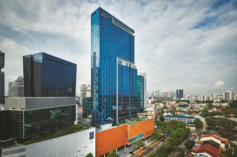 Occupying the 22nd to 33rd levels of Royal Square at Novena, Courtyard by Marriott Singapore Novena opened its doors on Nov 1