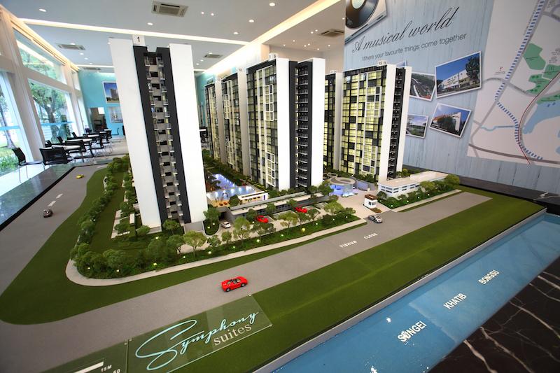 Symphony Suites scale model - EDGEPROP SINGAPORE