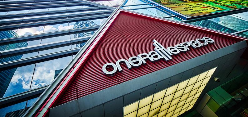 One Raffles Place branding