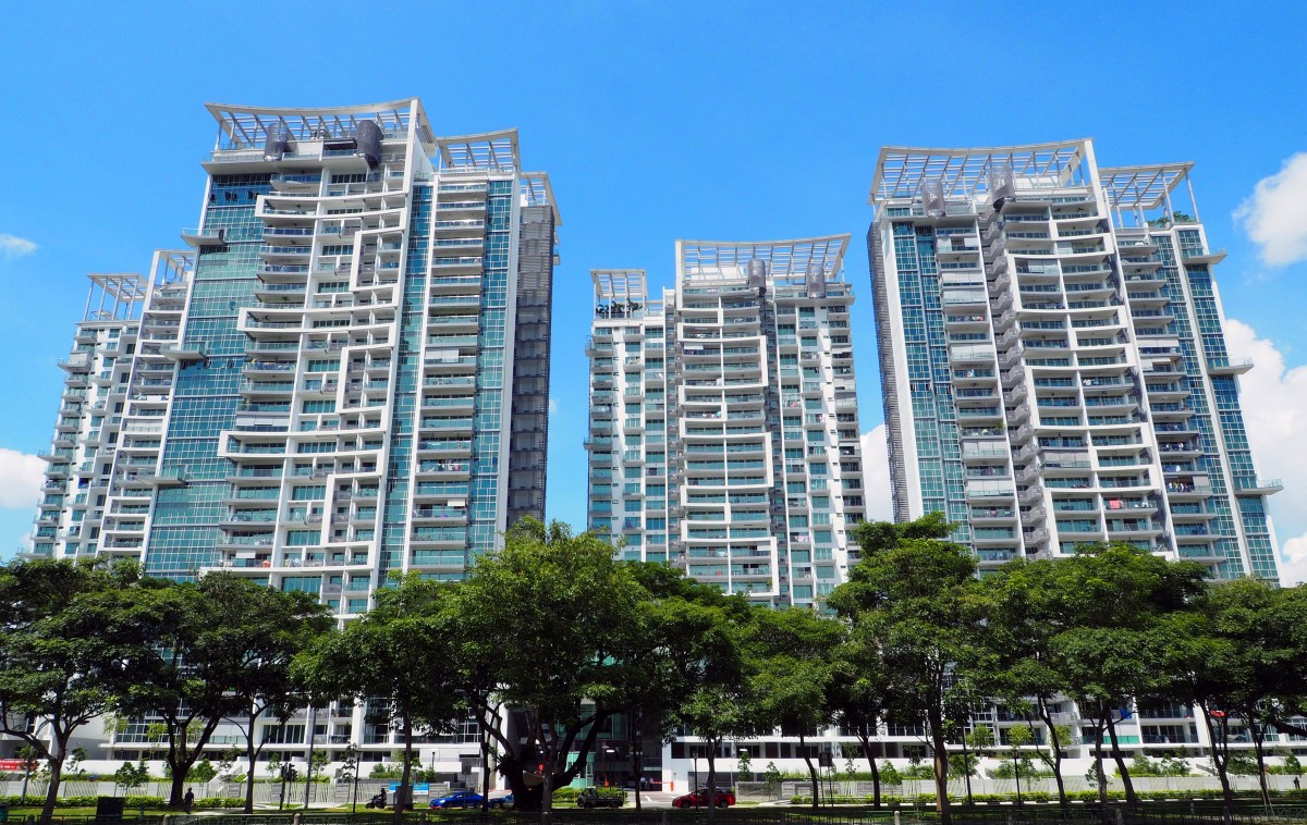Exterior of Eight Riversuites at Whampoa East