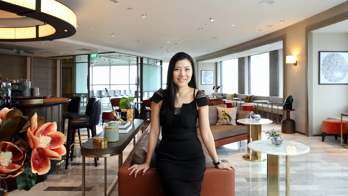 Jaelle Ang, co-founder and CEO of The Great Room, at The Great Room Centennial Tower