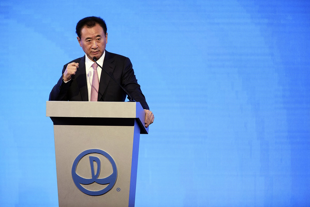 Chinese billionaire Wang Jianlin (Photographer: Patrick T. Fallon/Bloomberg) - EDGEPROP SINGAPORE