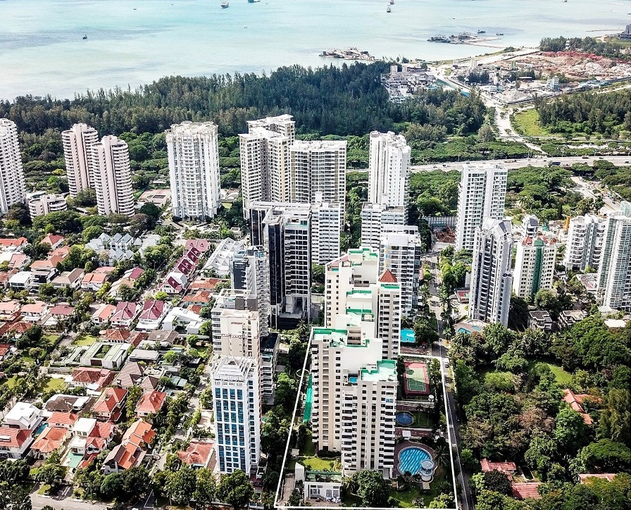 Aerial view of Katong Park Towers - EDGEPROP SINGAPORE