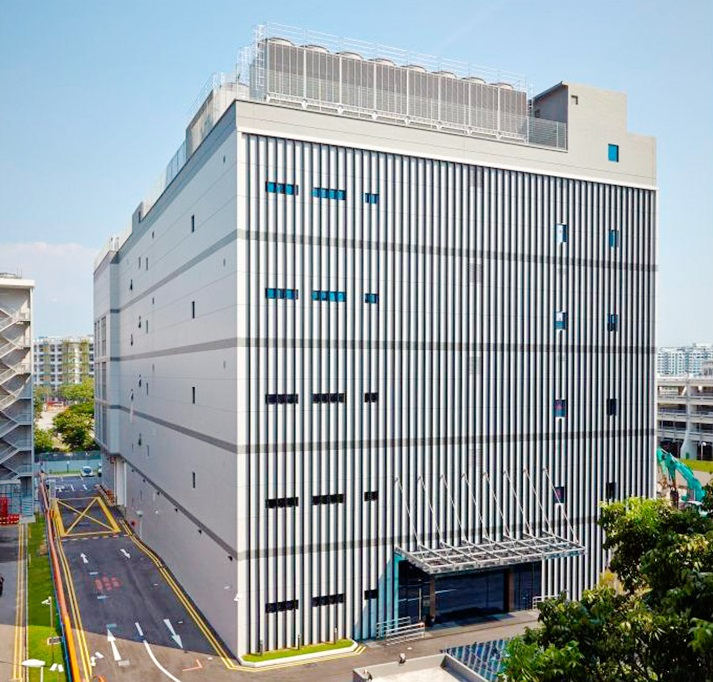 The five-storey Keppel DC Singapore 3 within Tampines Industrial Park. Data centres, considered too specialised in the past, are now becoming more attractive precisely because their specialised nature keeps out the competition. - EDGEPROP SINGAPORE