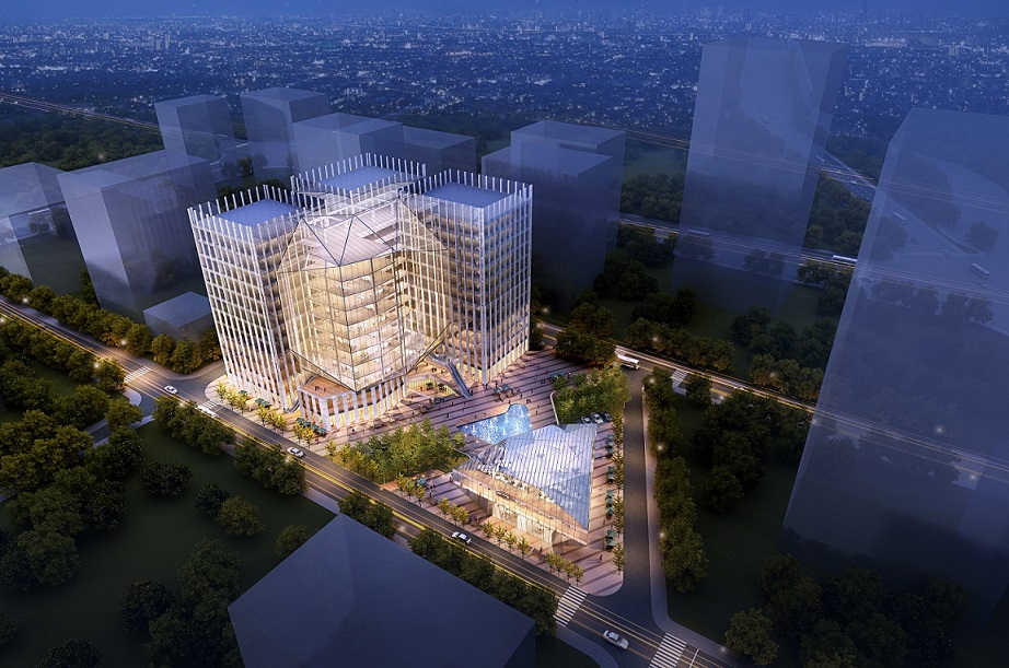 Artist's impression of the new office project on the site - EDGEPROP SINGAPORE