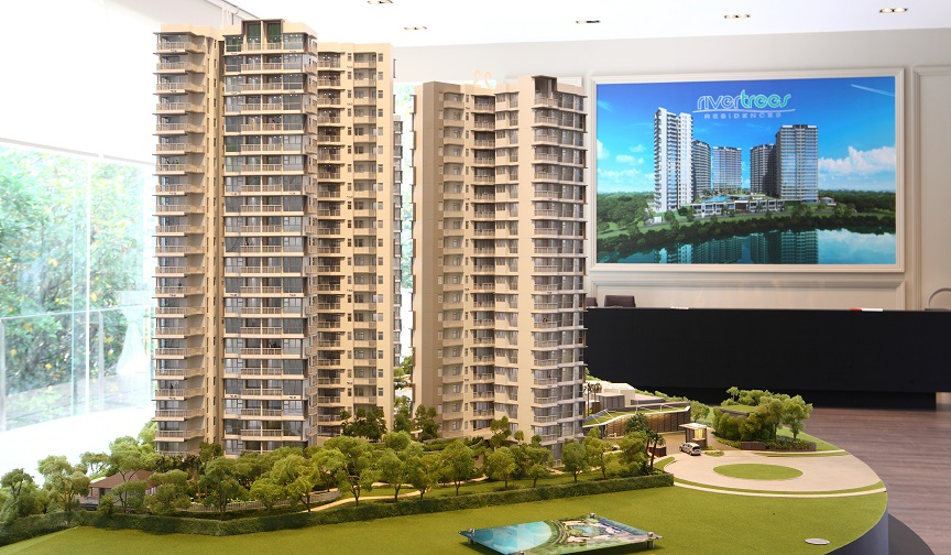 Scale model of RiverTrees Residences - EDGEPROP SINGAPORE