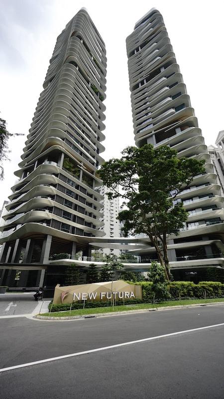 Exterior of New Futura - EDGEPROP SINGAPORE