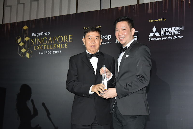 Gramercy Park wins the Development Excellence Award (Central) - EDGEPROP SINGAPORE