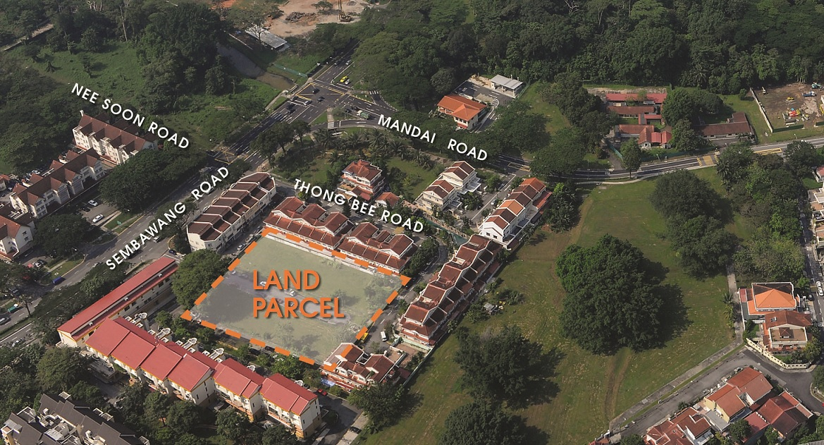 Aerial view of Chong Kuo Road site - EDGEPROP SINGAPORE