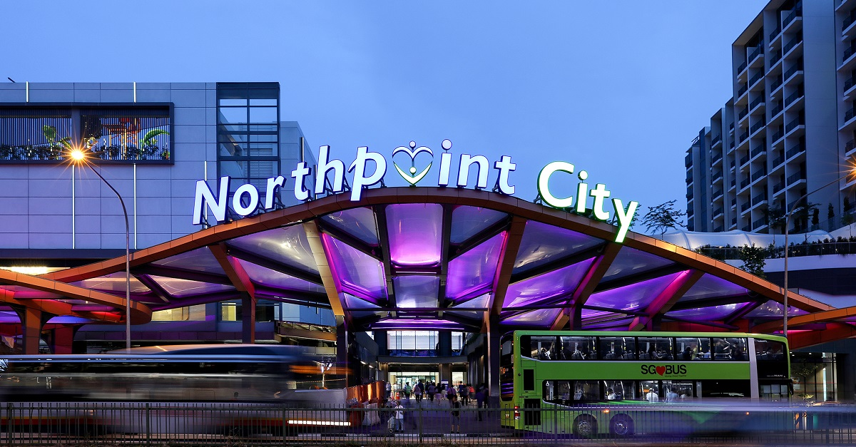 Exterior of Northpoint City - EDGEPROP SINGAPORE