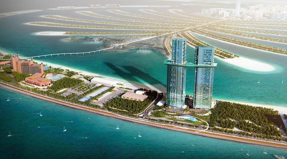 CGI of Aerial View of PALM360
