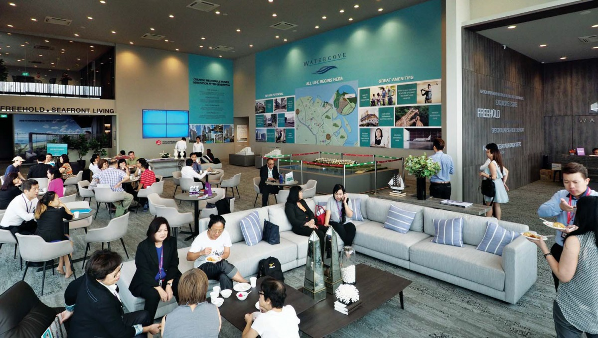 Preview of the first phase of Bukit Sembawang's Watercove