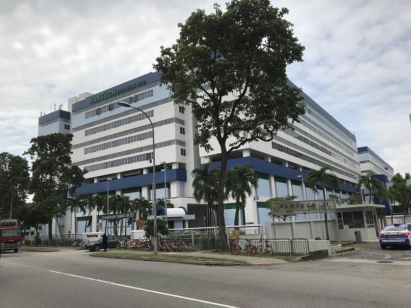 Exterior shot of Pantech Business Hub - EDGEPROP SINGAPORE