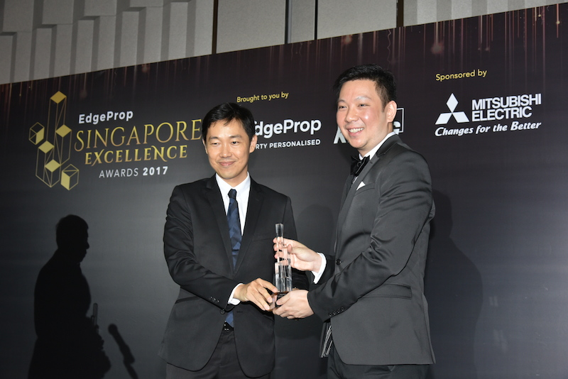 Leedon Residence wins the Development Excellence Award (Central) - EDGEPROP SINGAPORE