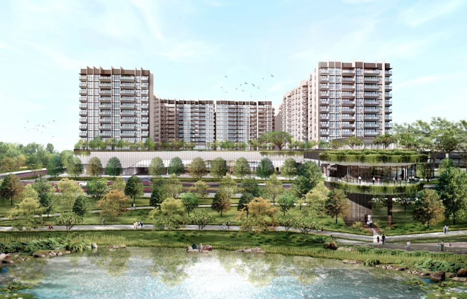 Artist's impression of The Woodleigh Residences and The Woodleigh Mall - EDGEPROP SINGAPORE