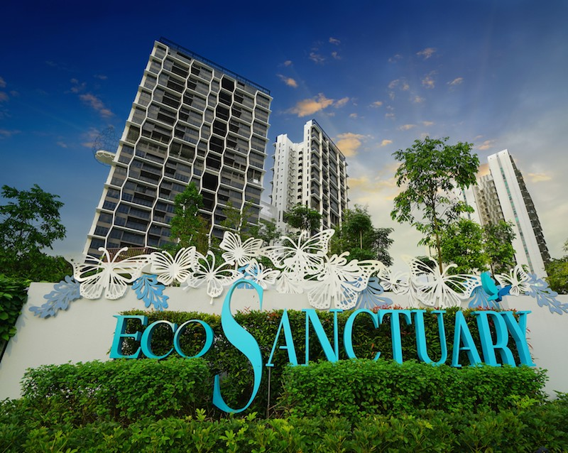 In line with Eco Sanctuary's ecology-inspired design concept, butterflies, birds and the honeycomb inspire spaces in the project - EDGEPROP SINGAPORE