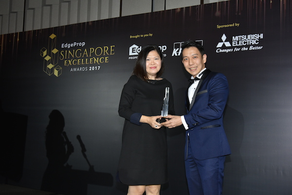 Forest Woods wins the Marketing Excellence Award