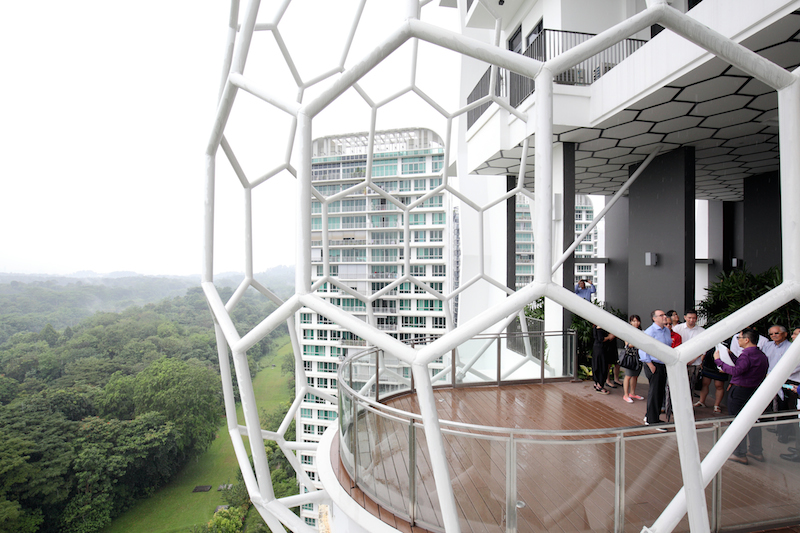 According to Raymond Yap of ADDP Architects, the inspiration for The Belvederes' design is the bird's nest - EDGEPROP SINGAPORE