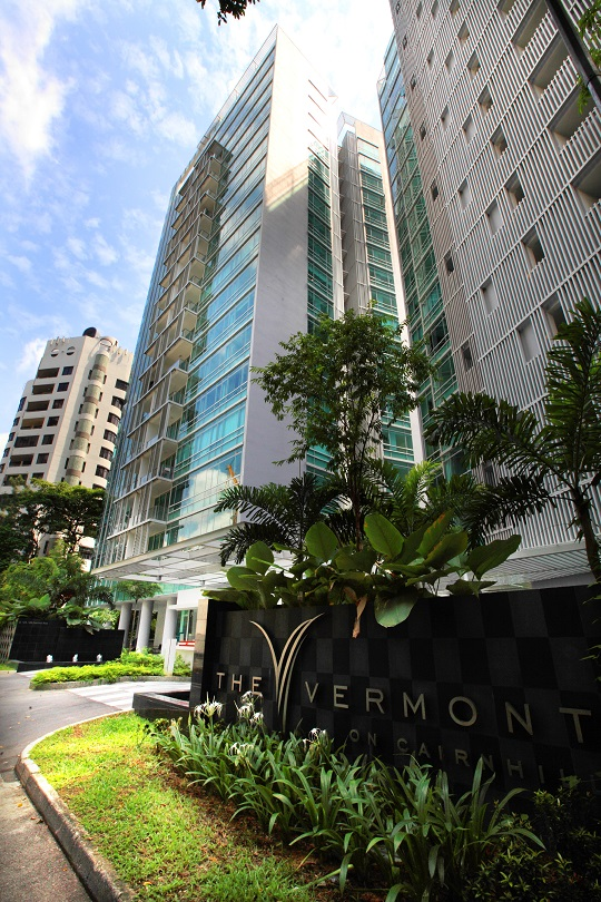 Exterior of The Vermont on Cairnhill at Cairnhill Rise - EDGEPROP SINGAPORE