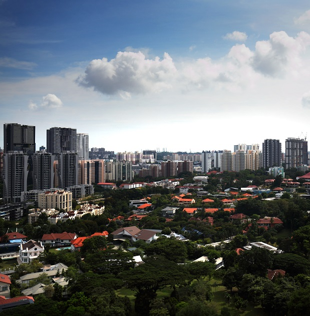 View of Jervois, Alexandra and Tanglin Roads from Gramercy Park - EDGEPROP SINGAPORE